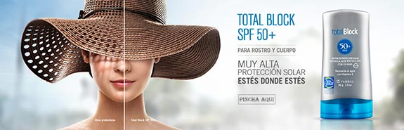 TOTAL BLOCK SPF 50 YANBAL